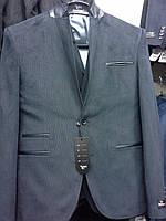 Пиджак мужской микровильветовый. Только опт