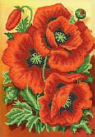 Схема для вышивки бисером Красный бархат