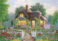 Схема для вышивки бисером Милый дом