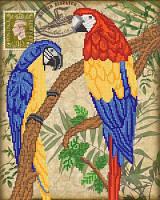 Схема для вышивки бисером Птицы южных широт