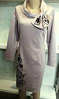 Женское платье строгое большого размера