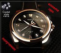 Мужские новые кварцевые, брендовые, стильные часы YAZOLE 325 НОВИНКА!