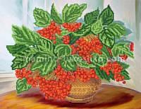 Схема для вышивки бисером Калина красная