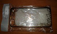 Чехол накладка iPhone 5 5s SE Fantasy Butterfly прозрачная с бабочкой