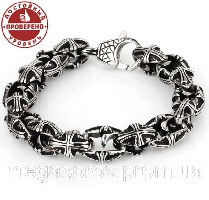 Мужские браслеты из медицинской стали