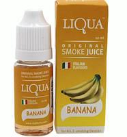Жидкость для электронных сигарет LIQUA BANANA Банан 10ml Без никотина SKU0000490