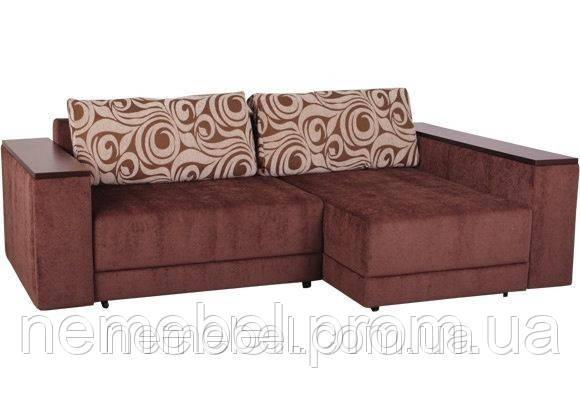 кожаные угловые диваны с большим спальным местом