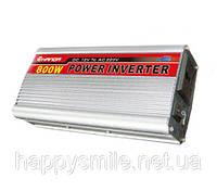 Инвертор, преобразователь, инвертор напряжения 12/220V - 800W, фото 1