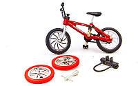 Фінгербайк-міні велосипед 0086H (1фінгербайк, 2зап.колеса, 1підст, 1ключ, пластик, метал)