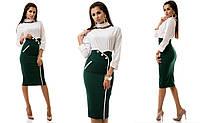 Женская  юбка с высокой талией МЖ 140NW