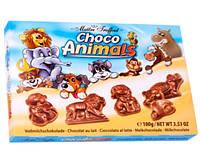 Шоколадные фигурки из молочного шоколада Choco Animals Maitre Truffout, 100 г