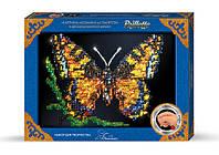 Danko Пайетки Б Бабочка Картина мозаика из пайеток Набор для творчества 33Х23см 3-ий уровень