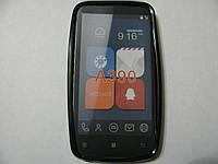 Чехол силиконовый для телефона смартфона Lenovo A390 чёрный
