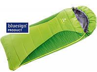 Теплый детский спальный мешок  Exosphere -4° L  DEUTER  37033 2206 1 зеленый с салатовым