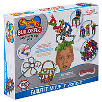Конструктор Zoob BuilderZ Inventor Kit 100 элементов