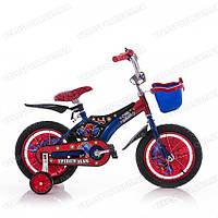 Детский велосипед Mustang Pilot Человек Паук 12 дюймов