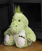 Игрушка-грелка Динозаврик искусственный мех
