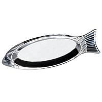 Блюдо для рыбы Kamille из нержавеющей стали 35см