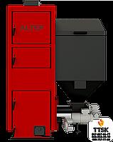 Котел на пеллетах с автоматической подачей топлива Альтеп КТ-2ЕSHN мощностью 33 кВт