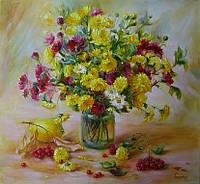 «Трепетная осень» картина маслом