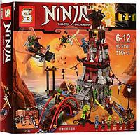 Конструктор Ниндзя - SY597 Осада маяка. аналог Lego Ninjago