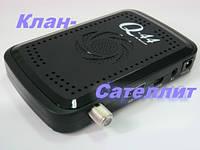Тюнер(ресивер) спутниковый Q-SAT Q-44 HD картоприемник- есть оптовая продажа