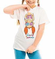 """Детская футболка """"Crazy"""""""