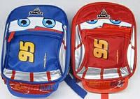 Дошкольный детский рюкзак Тачки Mcqueen