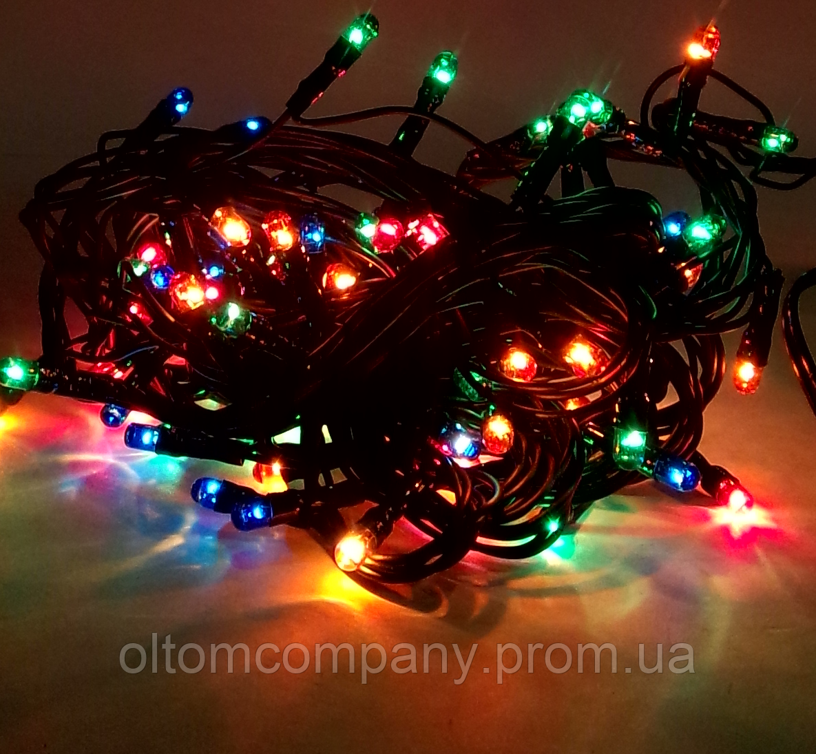 Как сделать новогодние гирлянды с лампочками