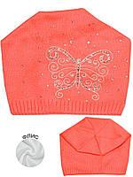 Детская шапочка (Ярко красный )