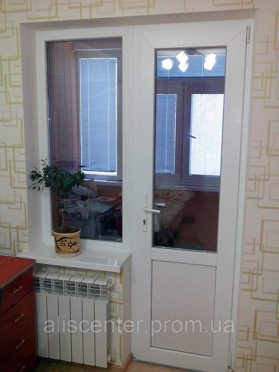 Балконный блок металлопластиковый , цена 2 780 грн., купить .