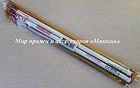 Спицы вязальные прямые пластмассовые, № 12 (12 мм)