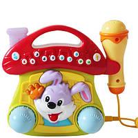 Детский музыкальный теремок с караоке
