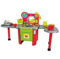 Детская игровая Кухня 10156 столешница, телефон, кухонные принадлежности, духовка
