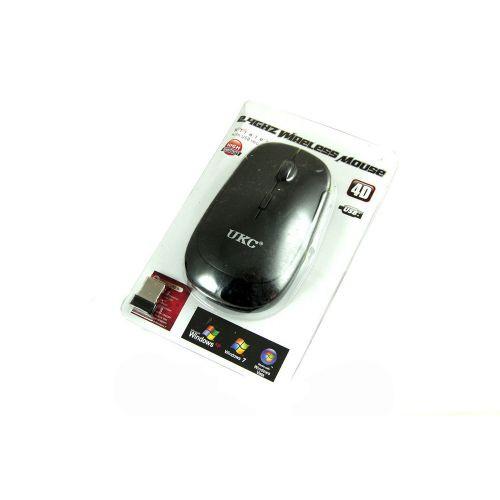 Беспроводная оптическая мышка мышь 4D UKC Slim