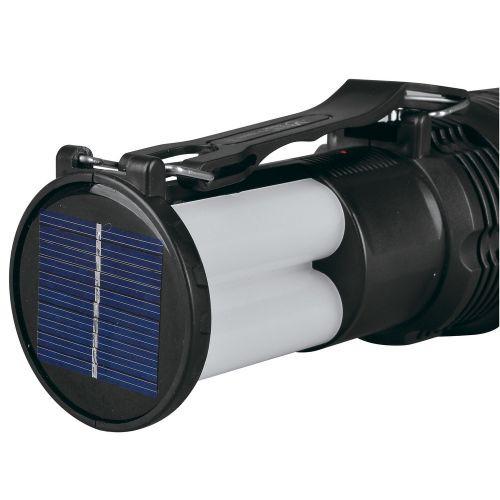 Фонарик аккумуляторный с солнечной панелью YJ2881T