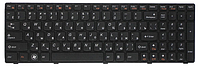 Клавиатура для ноутбука LENOVO (Z565, Z560, G570, G575, G770, G780) rus, black, black frame