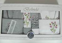 Халат BELINDA KLASIC 10 предметов халат полотенца 80х150 50х90 30х30 мочалка 15х21см махра мужской и женский