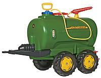 Rolly Toys цистерна с помпой 4 колеса rollyTanker John Deere зеленая