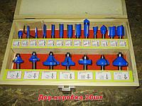 Набор пальчиковых твердосплавных фрез FD-20C. 20шт.