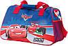 Детская спортивная, дорожная сумка 30 л. Cars, Тачки 551506 синяя с красным