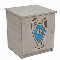 Тумбочка BABY BOO гравированный голубой кубок