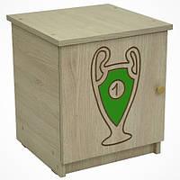Тумбочка BABY BOO гравированный зеленый кубок