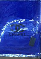 Палантин Chanel ярко-синий