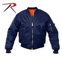 Лётная куртка-пилот Rothco МА-1 синяя, размер  S