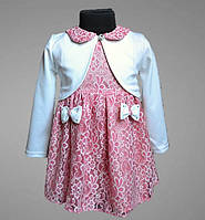 Нарядное детское платье, для девочки, с болеро, в сад или на праздник, с сумочкой