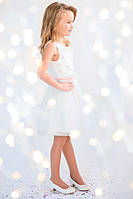 Нарядное платье для девочки, праздничное, пышное, юбка фатин