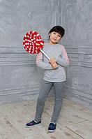 Красивая детская кофта с вставками из кружева