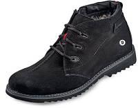 Мужские ботинки зимние МИДА 14658 из натурального нубука