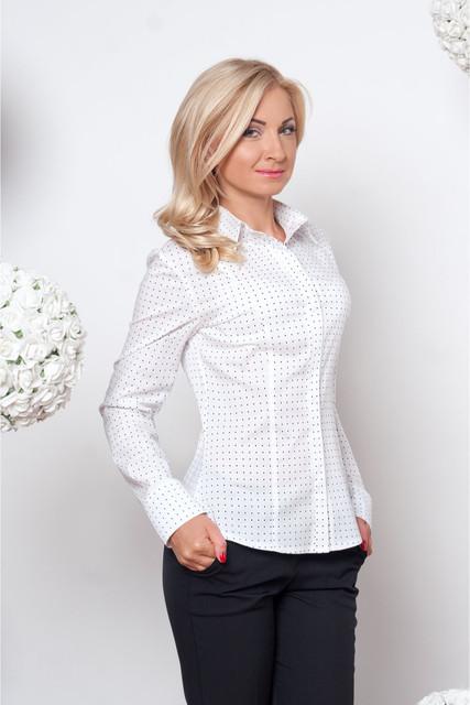 Белые женские блузы и рубашки